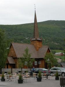 Staafkerk in Vagamo