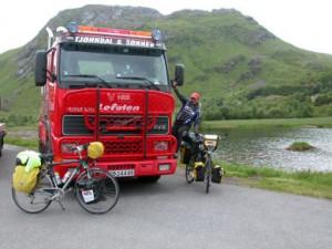 Falck truck