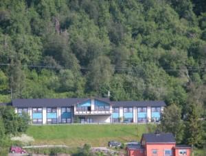 Hotel vanaf de boot