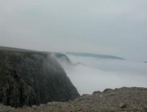 Mist rondom rots