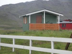 Hut camping skipfjorden