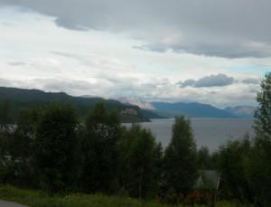 Altafjord bij camping