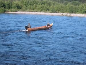 visser op alta rivier