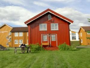 Dagboek bij schrijven te Hoylandet