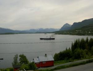 uitzicht hotel in Lyngseidet