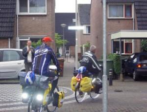 Vertrek vanaf de Kampakker te Breda